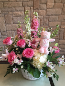IT'S A GIRL CUSTOM ARRANGEMENT
