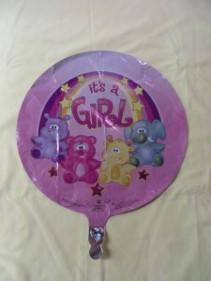 It's a Girl Balloon 1 Mylar Balloon