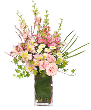 It's A Girl! Bouquet Fresh Flowers in Ozone Park, NY | Heavenly Florist