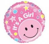 It's a Girl Mylar  Balloon