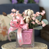 It's a Girl! Silk Floral Arrangement