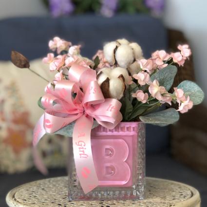 It's a Girl! Silk Floral Arrangement