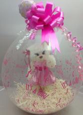 Its a Girl Stuffed Balloon Balloon Bouquet