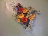 Golden Sunset Wreath By Perrine Custom Silks