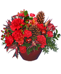 IT'S CHRISTMAS TIME! Flower Bouquet