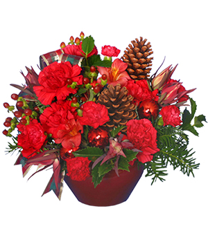 IT'S CHRISTMAS TIME! Flower Bouquet in Canon City, CO | TOUCH OF LOVE FLORIST AND WEDDINGS