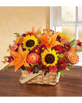 It's Fall Basket  Floral Basket