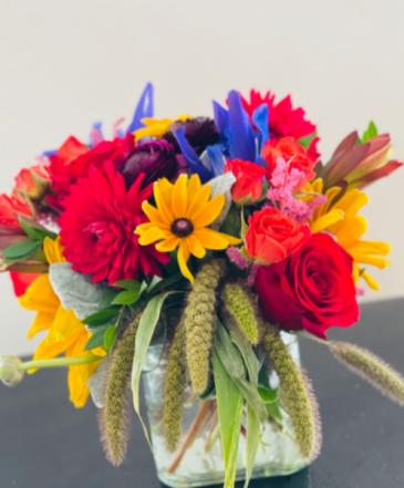Fall Festival Vase Arrangement