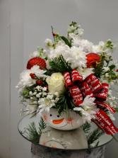 Its Little Frosty Outside  Christmas Arrangement