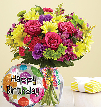 It's Your Day Bouquet® Happy Birthday Arrangement