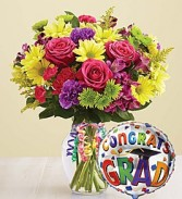It's Your Day Graduation Bouquet Graduation Flowers