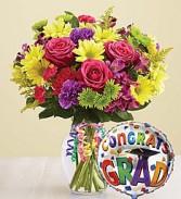 It's Your Day Graduation Bouquet Graduation Flowers