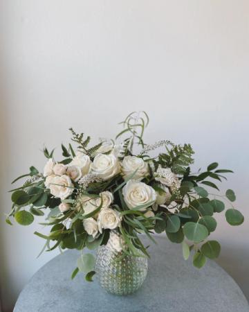 Ivories  Handtied Bridal Bouquet