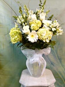 Ivory Beauty Vase