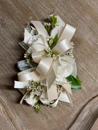 Ivory Corsage Corsage