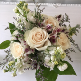 Ivory Meadow Hand Tied Bouquet