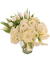 Ivory Splendor Arrangement