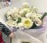 Ivory Spring  An all White Bouquet