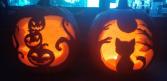 Jack-O-Gram Jack-O-Lantern Carved Pumpkin