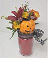 Jack-O-Lantern Country Candle