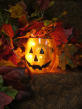 Jack O Lantern Light Gift
