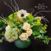 Jade Wisp Vase Arrangement