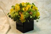 Jamaican Colors Cube vase, centerpiece