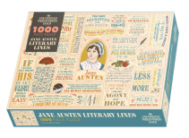 Jane Austen Literary Lines Puzzle from The Unemployed Philosophers Guild