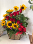 Sunflowers Galore  Rose Arrangement