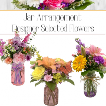 Jar Arrangement-Designer's Choice