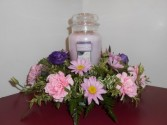 Jar Candle Arrangement