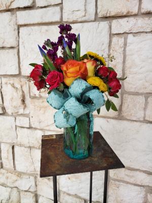 Jar of Happiness Mason Jar Mix in Burleson, TX   Texas Floral Design Inc
