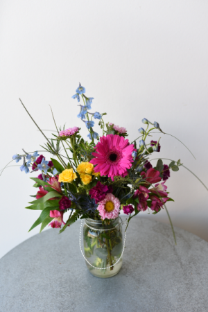 Jar of Happy  in La Grande, OR | FITZGERALD FLOWERS