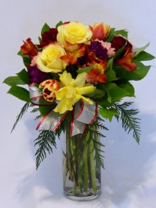 JAUNTY & FRESH FLOWERS-   Birthday Flowers, Get Well Flowers, Fresh For You!  Mixed  Flowers & Roses Prince George BC
