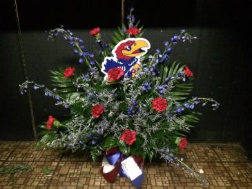 Sports Fan Funeral Spray Funeral
