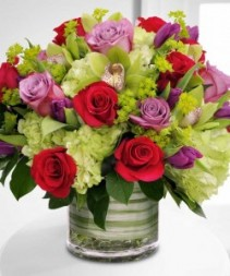 Jazz Garden Bouquet Assorted High Style Flowers
