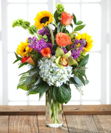 Jazz Rhapsody bouquet luxury collection