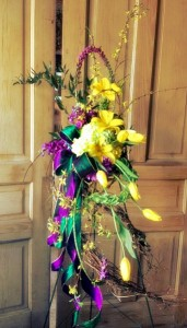 Jazzy Tribute Funeral Flowers
