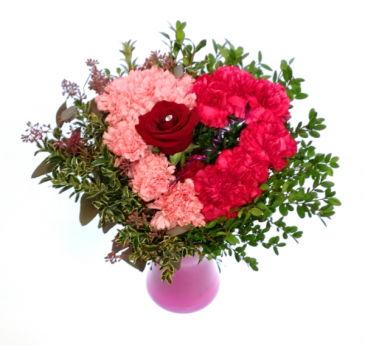 Je T'Aime Handtie Bouquet