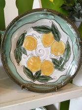 Jeanne Palmer Pottery Pie Plate Gift Item