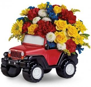 Jeep Wrangler Arrangement