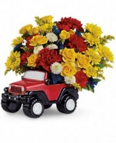 Jeep Wrangler King Of The Road by Teleflora
