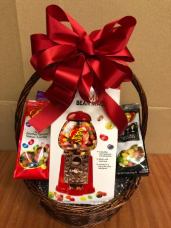 Jelly belly basket Gift basket
