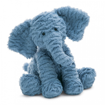 JELLYCAT FUDDLEWUDDLE ELEPHANT PLUSH ANIMAL