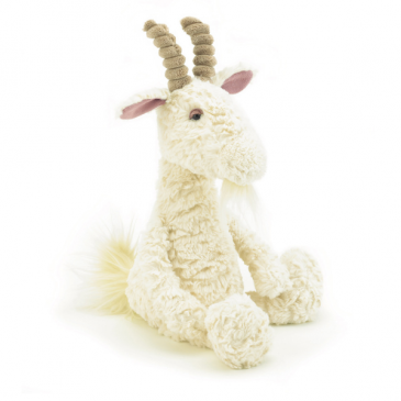 Jellycat Furryosity Goat plush stuffed animal