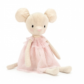 JELLYCAT JOLIE MOUSE PLUSH STUFFED ANIMAL
