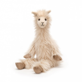 JELLYCAT LOUIS LLAMA PLUSH STUFFED ANIMAL
