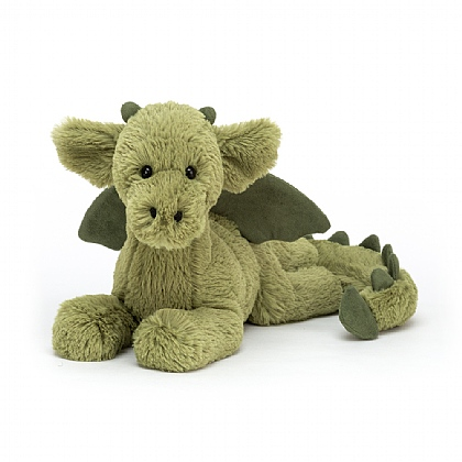 JELLYCAT MONTY DRAGON PLUSH STUFFED ANIMAL