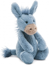 Jellycat Bashful Donkey  Plush Stuffed Animal