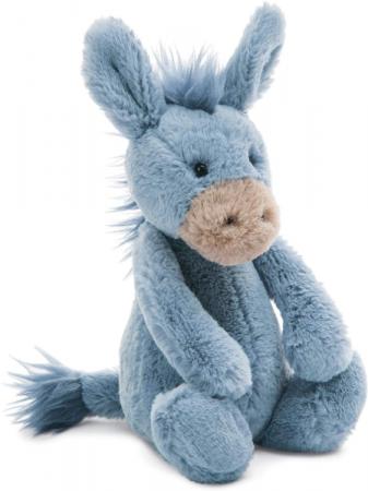 Jellycat Small Bashful Donkey plush stuffed animal